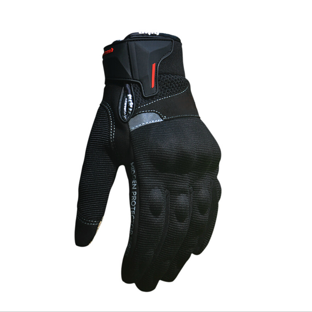 Motorcycle gloves discount - Motorcycle Gloves Summer Guantes De La Motocicleta Glove Full Finger Motorbike Luvas Screen Touch Cycling Racing