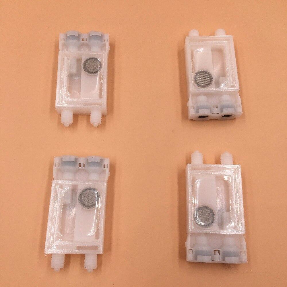 Pour Epson F189010 DX7 tête d'impression amortisseur d'encre/Xenons Titanjet DX7 blanc amortisseur carré bouche connecteur utiliser pour 3x2mm tube d'encre