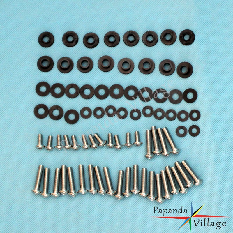 Motorcycle Full Set Complete Stainless Steel <font><b>Fairing</b></font> Mount Bolt Kit Body Bolts Screws for <font><b>Yamaha</b></font> YZF <font><b>R1</b></font> <font><b>2002</b></font> 2003 image