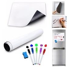 A3 Size Magnetic Whiteboard for Fridge Magnet Kitchen Magnets Sticker Dry wipe Board White Board Marker Pen Eraser Notepad Memo недорого