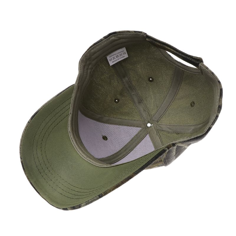 Fishing Hat Camouflage Sunhat Sports Cycling Hiking Cap Baseball Cap Sunshade Camping Tackle Hunting Accessories in Fishing Caps from Sports Entertainment