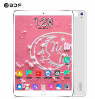 BDF 2020 New 10 Inch Tablet PC Quad Core 1GB RAM 32GB ROM 1280*800 IPS 2.5D Tempered Glass 2 SIM Card Android 7.0 Tablets 10.1