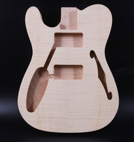Unfinished Guitar Body Mahogany Telecaster Tele Electric Guitar Left Hand