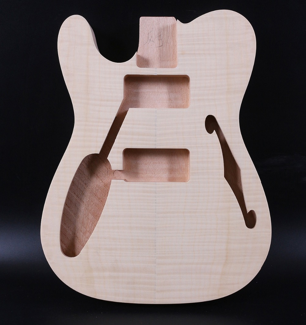 Unfinished <font><b>Guitar</b></font> <font><b>Body</b></font> Mahogany <font><b>Telecaster</b></font> Tele Electric <font><b>Guitar</b></font> Left Hand image
