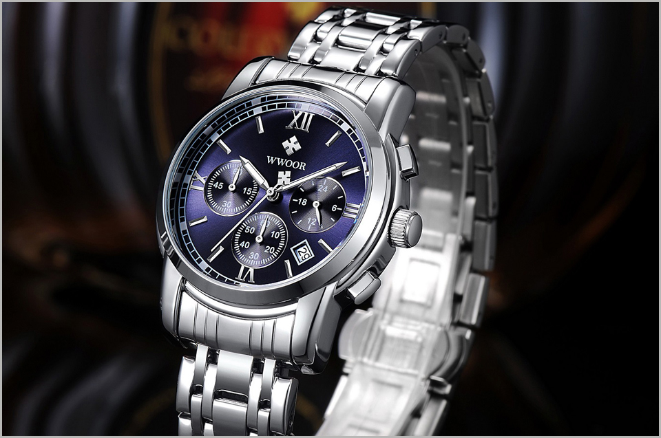 New Gold Quartz Wristwatch Men Watches Top Brand Luxury Stainless Steel Male Wrist Watch Golden Clock Relogio Masculino (7)