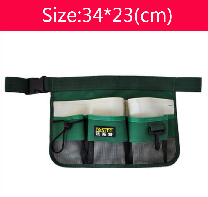 Oxford Fabric Professional Electricians Tool Bag Hard Plate Kit Tool Bag Set Kit Bag Green