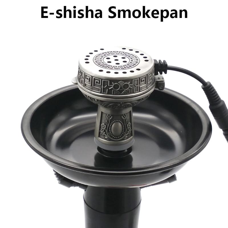 Multifunktionell Metal E-Shisha Smokepan Elektronisk Tobaks Skål & - Hushållsvaror