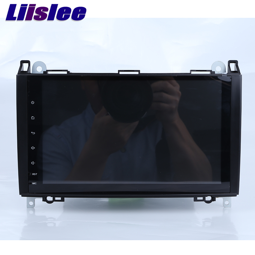 Liislee Android system For Mercedes Benz C Class W203 S203 C180 C200 Car Navigation GPS Radio Multimedia Player No CD DVD