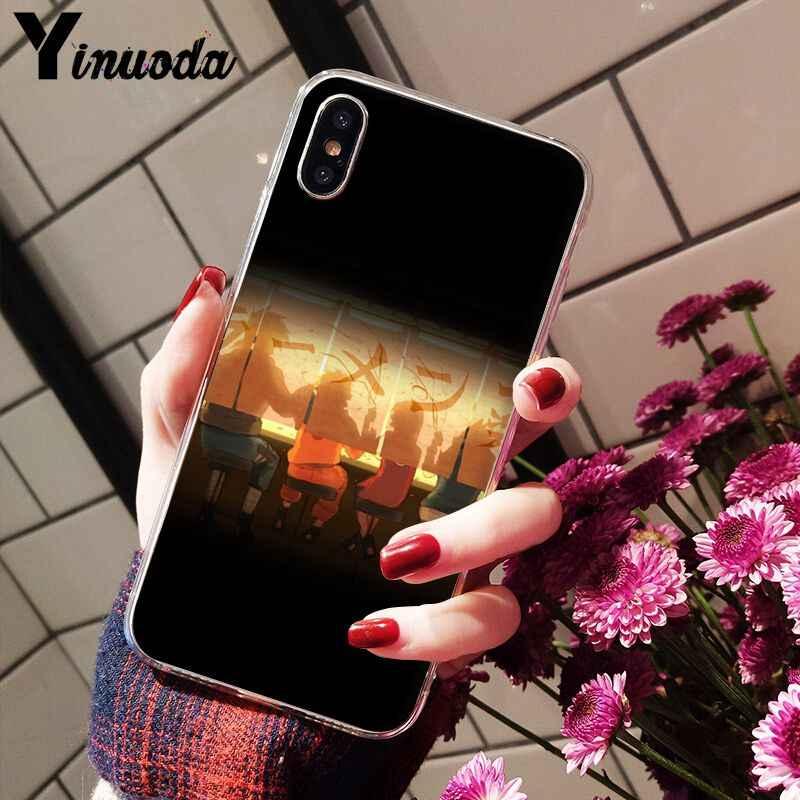 11pro 最大ナルトソフト TPU シリコーンカラフルな電話アクセサリーケース iphone 8 7 6 6S プラス X XS 最大 10 5 5S 、 SE XR Coque シェル