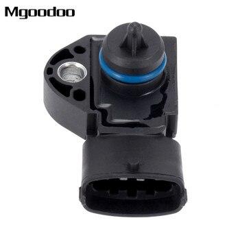 Mgoodoo Pemakaian Pressure Sensor 0261230236 31272733 Cocok untuk Volvo S40 V50 Aku 2.4i 0 261 230 236