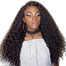 Full Lace Human Hair Wigs For Black Women 250% Density Pre Plucked Brazilian Curly Remy Hair Honey Queen