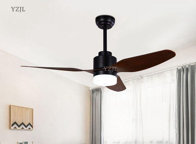 Nordic Creative fan chandelier lamp dining room bedroom children's room fan lights remote-control modern home fan chandeliers