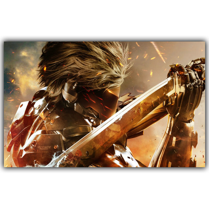 Metal Gear Solid V The Phantom Game Art Silk Poster Print
