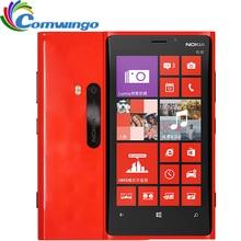 Nokia lumia 920 débloqué win 8 os dual-core 1.5 ghz 32 gb 3g gps wifi 8.7mp windows téléphone remis à neuf