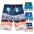 Men's fifth summer 2016 men's casual shorts loose big yards tide Hawaii beach shorts quick-drying WZ127