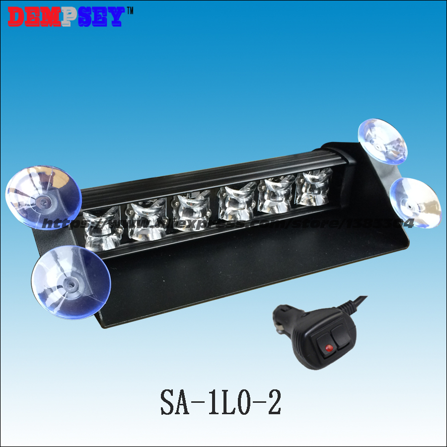 SA-1L0-2 High brightness LED visor hazard signal strip deck dash light emergency strobe light/LED Strobe Traffic Advisor Light