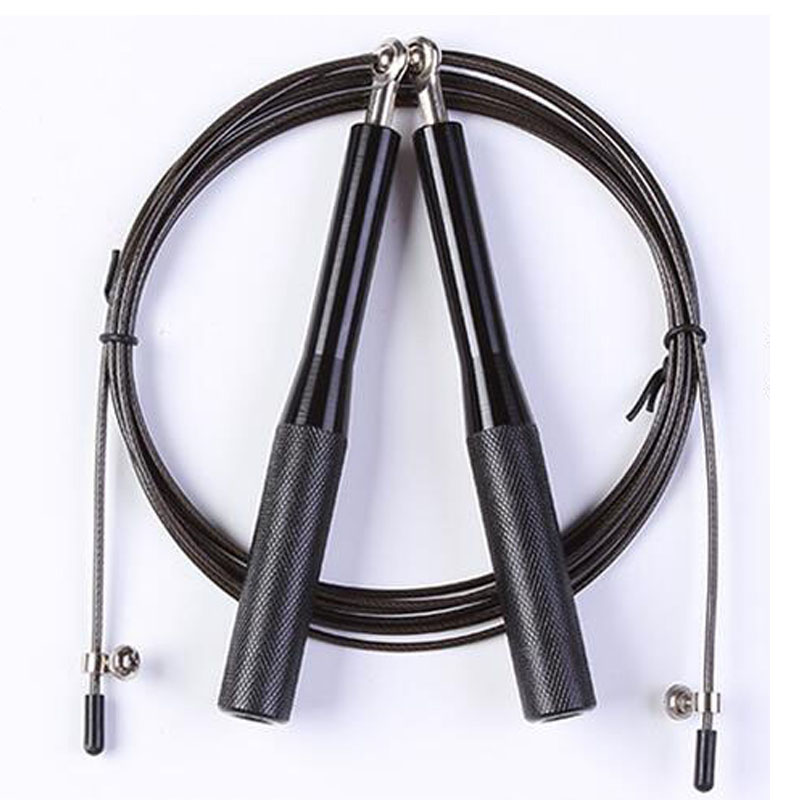 Crossfit Speed Jump Rope Professional Sport Fitness Equipment Training Metal Handle Gym Jump Rope With Bag L391