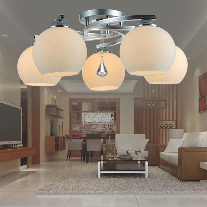 Modern ceiling light led bedroom lamp modern study lamp small living room lamp ceiling crystal lamp noosion modern led ceiling lamp for bedroom room black and white color with crystal plafon techo iluminacion lustre de plafond