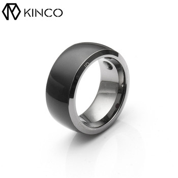 Black Silver 7/8/9/10/11/12 Health Module Share Information IP68 APP Lock Share Online File NFC Smart Magic Ring for IOS/Android