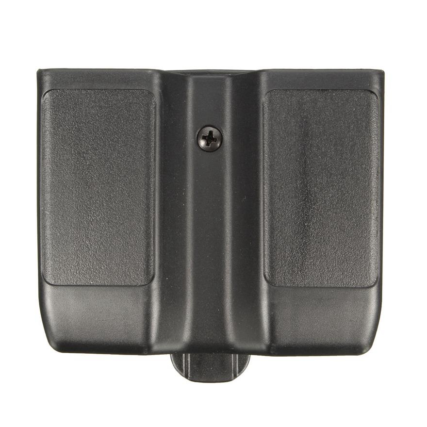 Tactical Airsoft Magazine Pouch Carrier Double Magazine Pouch Fits Colt 1911 Beretta M92 M9 Sig P226 HK USP Glock 17 19(China)