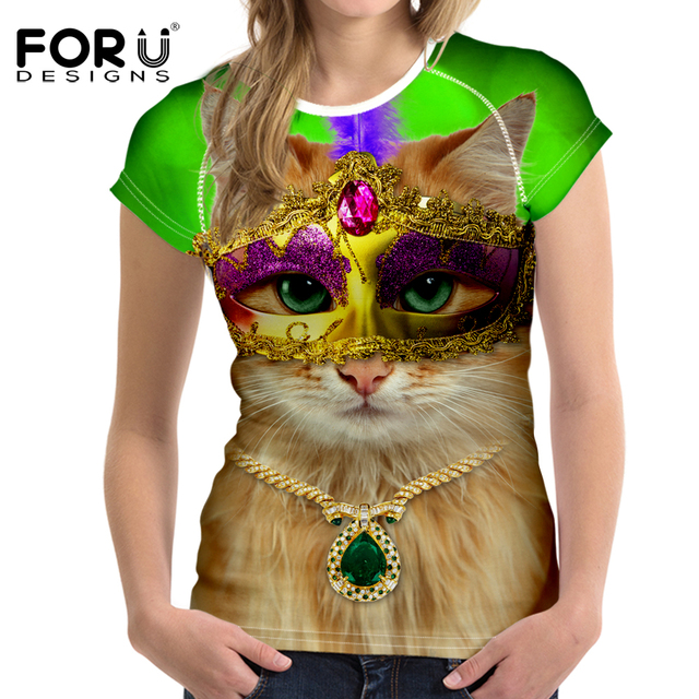 612ae682 FORUDESIGNS Persian Funny Mix-color Women Outdoor Dry Quick T-shirts Running  Short Sleeve Tees Tops Athletic Cloth T-shirt