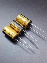 30PCS Nichicon FG 220uF 50V genuine spot 220uf 50v audio imported for capacitor free shipping