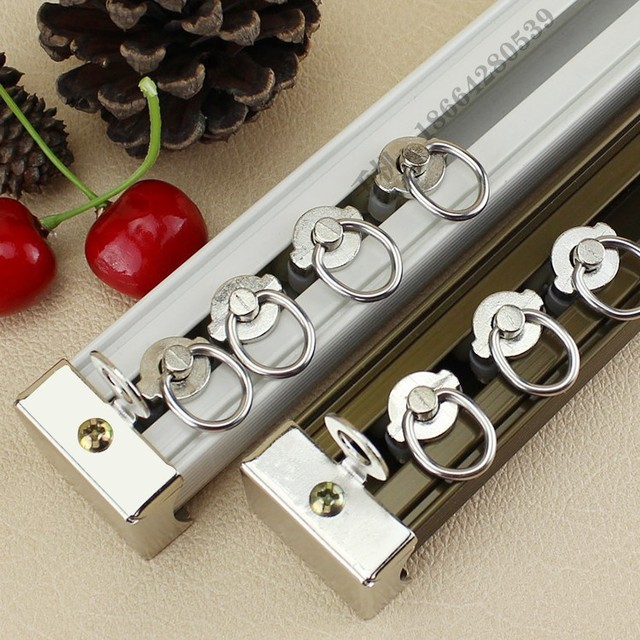 Aliexpress.com : Buy 2 thick heavy selling aluminum curtain rod ...