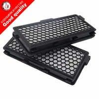 2 unids/lote vacío piezas de limpiador HEPA activo filtro SF-AH 50 para Miele S4 S5 serie S5780 gato y Dog5000 S8330 S6240 S6240-S6760 serie