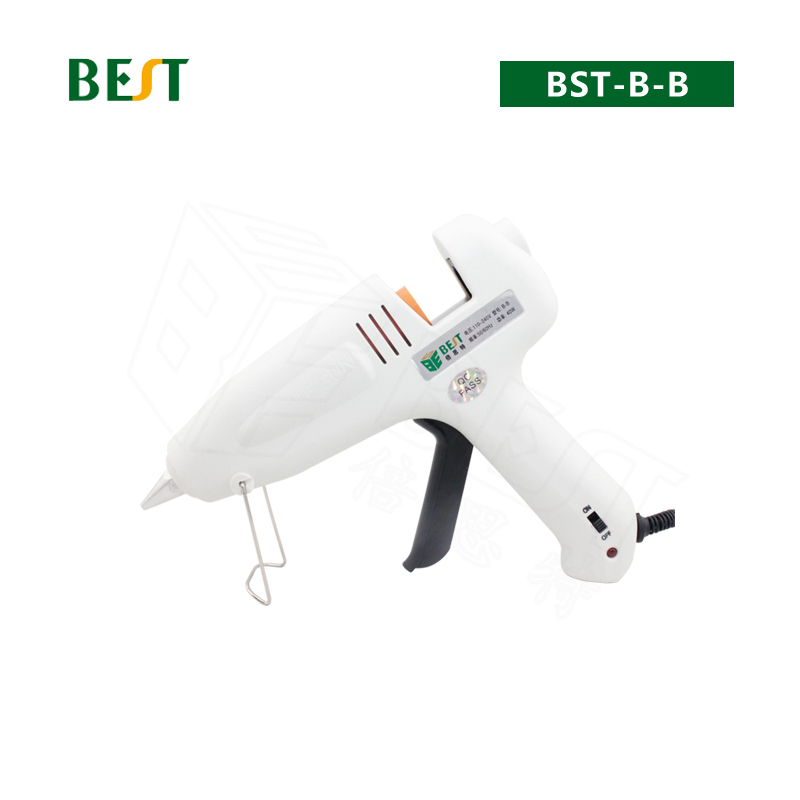 BES B-B 40W Ceramic Heating Hot Melt Glue Gun 110V-220V Dia=11mm Electronic Tools