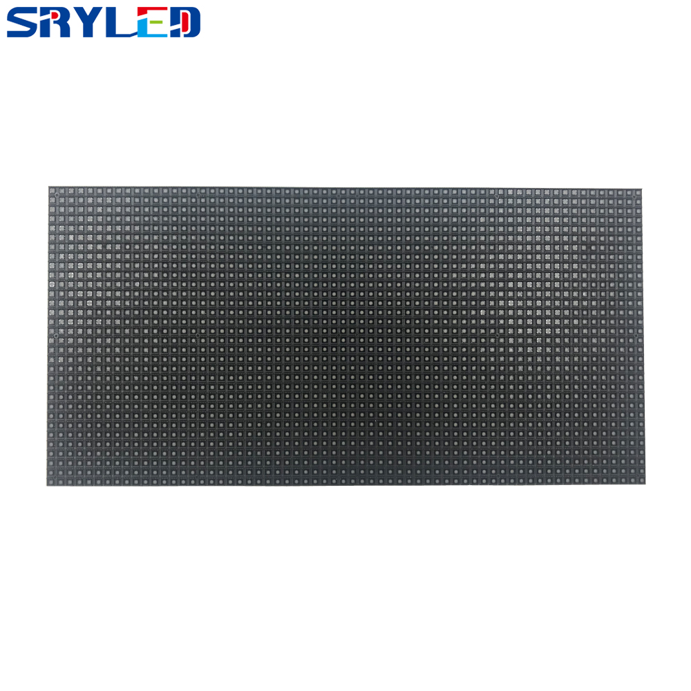 Indoor Full Color P4 LED Module Black RGB LED Video Wall Panel 64x32matrix Board