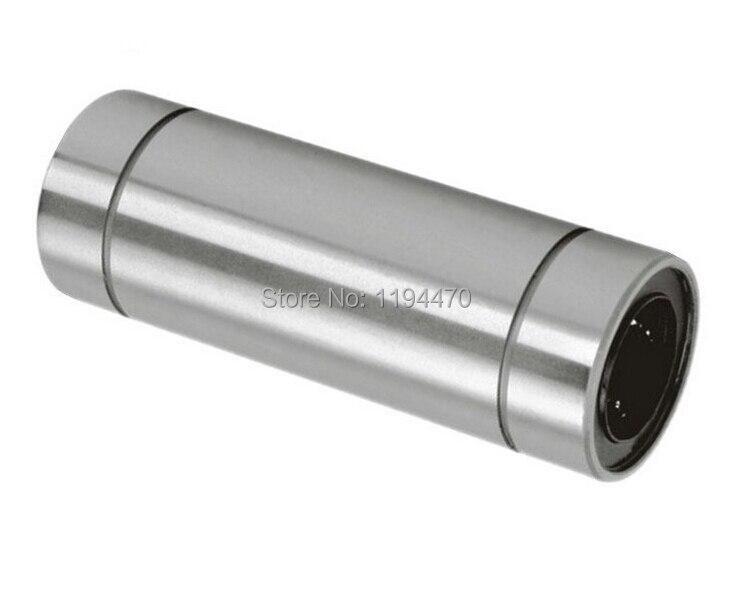1pcs LM16LUU 16x28x70 mm Long Linear Ball Bearing Bushing Linear Motion Bearing For 3D Printer CNC Parts 1pcs scv20 scv20uu sc20vuu 20mm linear bearing block bushing with lm20uu for cnc