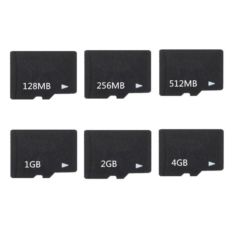Hot!!! 5pcs/lot 8GB 4GB 2GB 1GB 512MB 256MB 128MB 64MB TF Card Micro SD Card TF Memory Card Microsd Memory Card