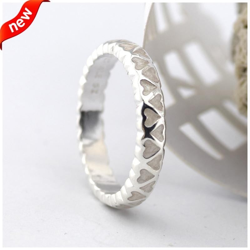 Abundance of Love Rings With Silver Enamel 100% 925 Sterling ...