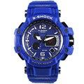 Relojes Hombre SMAEL 2016 S Choque Relógio Masculino Mens Relógios Top Marca de Luxo LED Digital Relógio De Pulso Dos Homens Relógios de Quartzo relógio