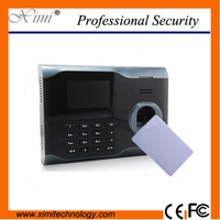 Color Screen Fingerprint And 13 56MHZ Smart Card Time Attendance Time Recorder Time Clock U100 IC