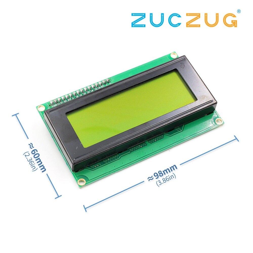 1PCS LCD2004+I2C 2004 20x4 2004A Blue/Green screen HD44780 Character LCD /w IIC/I2C Serial Interface Adapter Module1PCS LCD2004+I2C 2004 20x4 2004A Blue/Green screen HD44780 Character LCD /w IIC/I2C Serial Interface Adapter Module