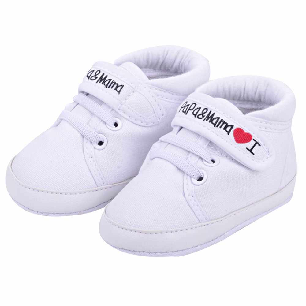 Baby Infant Kid Boy Girl Soft Sole Canvas children's shoes girls genuine leather autumn Sneaker Toddler Shoes DEC29