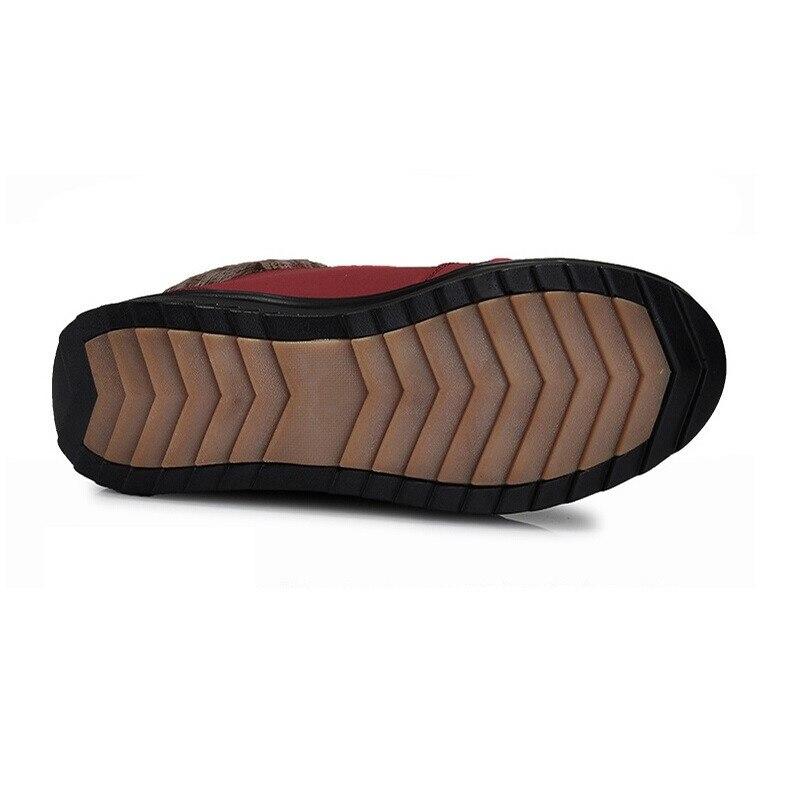 Moda Invierno Zapatos Planas Black Tobillo red coffee A De Antideslizantes 2016 Agua Botas Para Nuevas Informales Prueba Mujer Nieve wHCqZBOxC