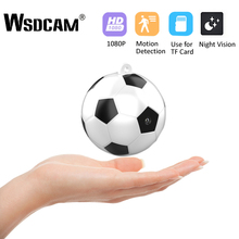 Wsdcam Mini Camera HD 1080P Sensor Night Vision Camcorder Mo