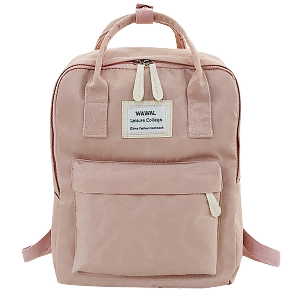 Fashion lady Student Canvas shoulder bag schoolbag bag Tour backpack #YL5(China)