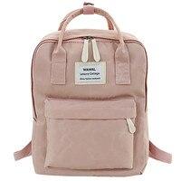Moda senhora estudante lona bolsa de ombro mochila tour mochila # yl5|Mochilas| |  -