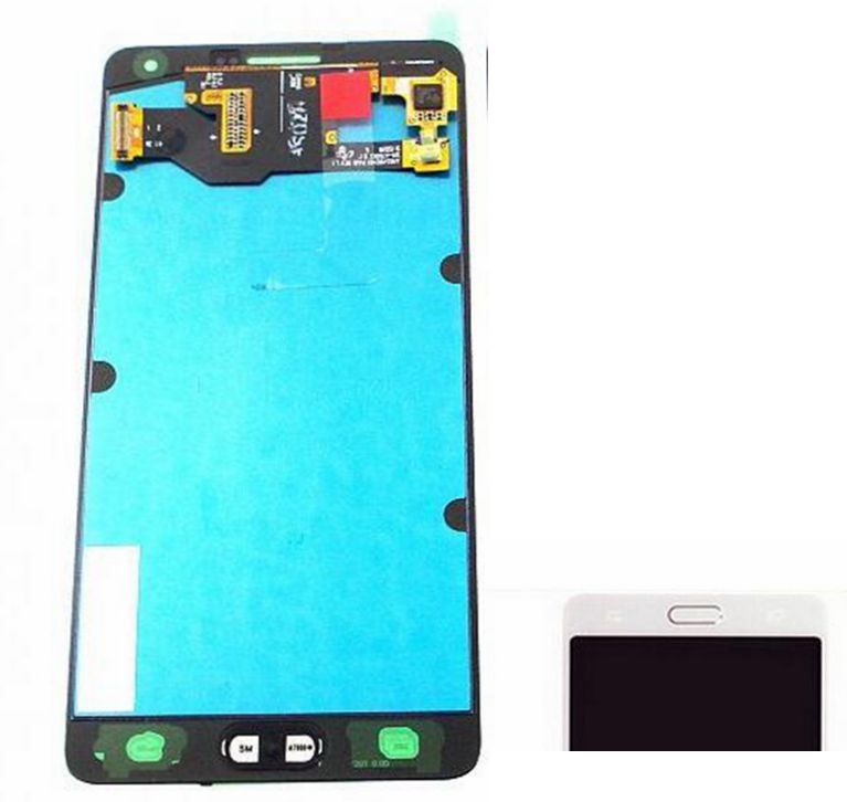 2015 WHite color For Samsung Galaxy A7 A700 A7000 SM-A700F Lcd display screen+Touch Glass Digitizer Assembly free shipping