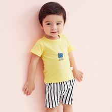 2019 Baby Clothing Tops Cotton Baby Girl Shirt Baby's Boy Summer Short Sleeve Sets Cartoon Infant Newborn T-shirt Shorts Set недорго, оригинальная цена