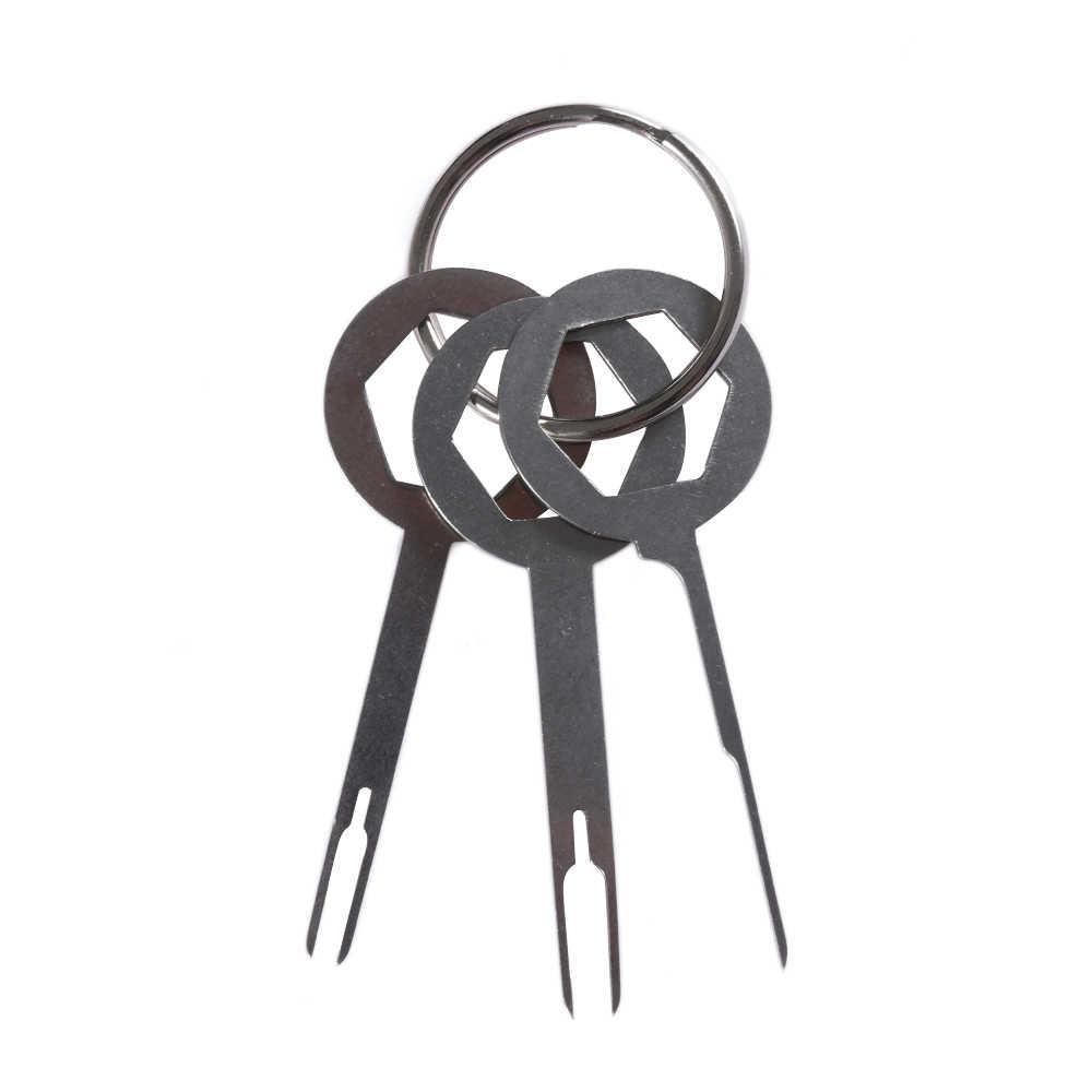 2019 prácticas de coche eléctrico cableado de crimpado conector kit Extractor de clavijas 3x Terminal Herramienta de extracción