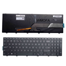 "FOR DELL Inspiron 15 3000 5000 3541 3542 3543 5542 5545 5547 15-5547 15-5000 15-5545 17-5000 15.6"" US laptop keyboard backlight(China)"