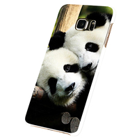 Panda Print Phone Case Cover for Samsung Galaxy S5 S6