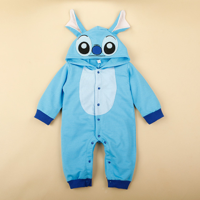 Infant Romper cartoon stitch minnie baby jumpsuit climbing clothes children Romper