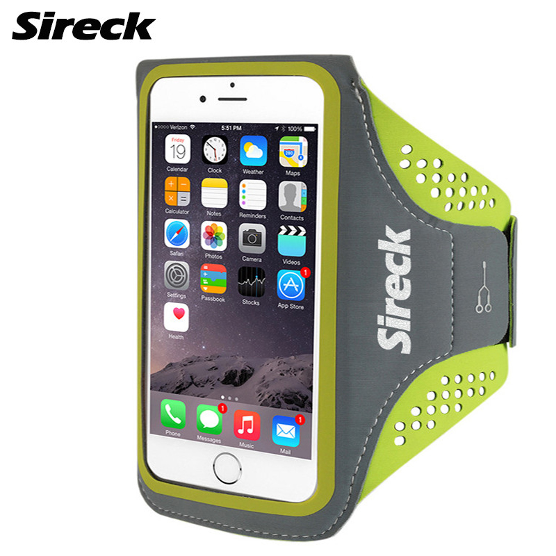 Sireck Running Bag Waterproof Sport Arm Bag 5.0'' 5.8'' Phone Case Fitness Gym Bag Jogging Arms Belt Pouch Running Accessories 13