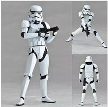 Star Wars The Force Awakens The White Series Stormtrooper Action Figure Model The Halloween Gift