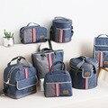 Термосумка для ланча Oxford  изолированная сумка-холодильник для хранения еды для женщин и детей  Портативная сумка для отдыха  аксессуары  чех...